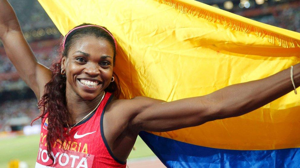 Catherine Ibargüen será La abanderada de Colombia en los Olímpicos de Tokio