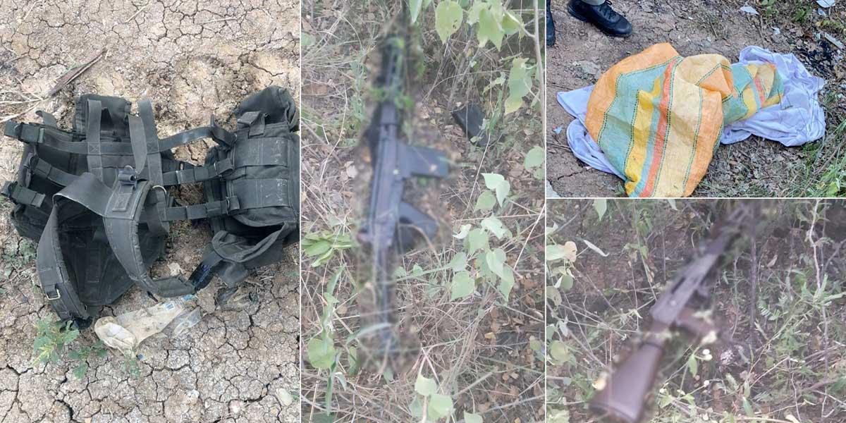 Encuentran armas que habrían sido utilizadas en atentado contra Duque