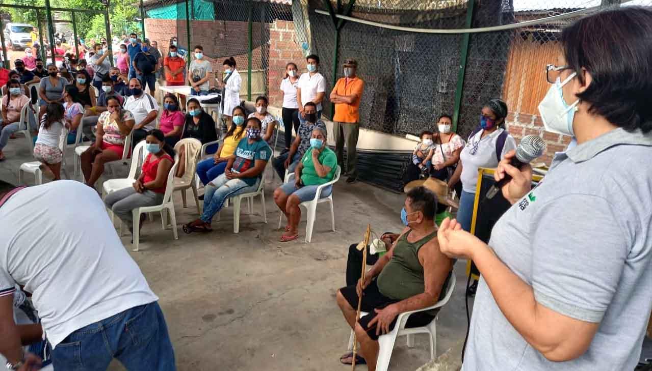 Con 'mapeo' de predios, comenzó en firme proceso de legalización de Lomas de San Pedro, en Neiva
