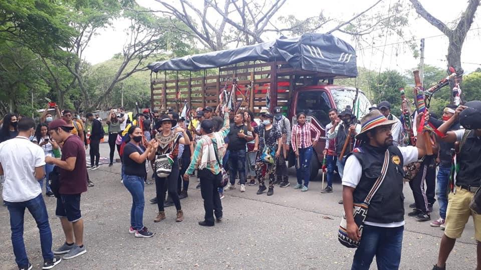 Acuerdos básicos permiten desbloquear vía al Caquetá, en Altamira