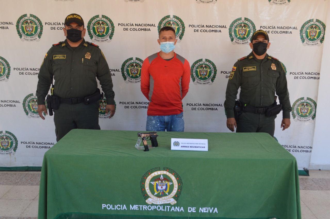 La comunidad lo agarró y la Policía lo capturó