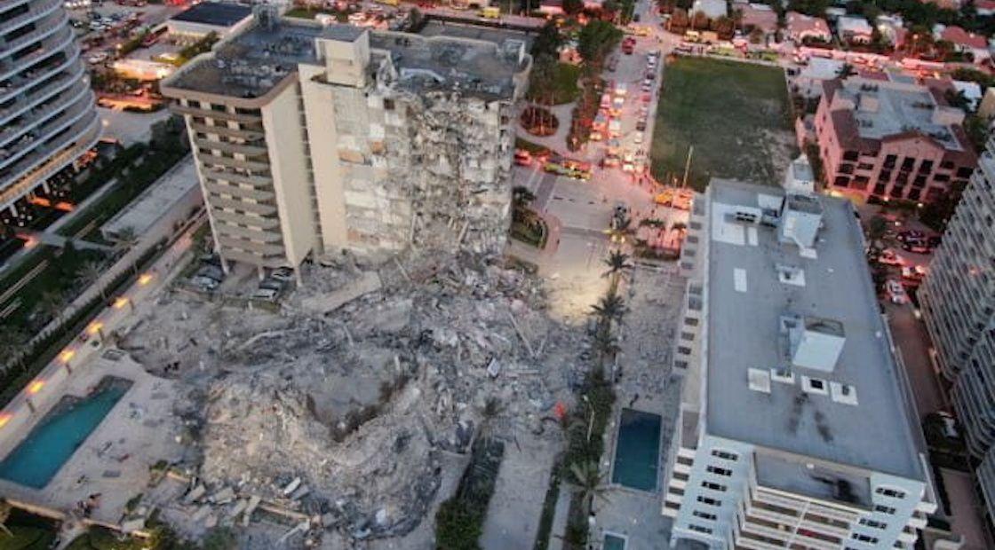 Seis colombianos residían en el edificio desplomado en Miami