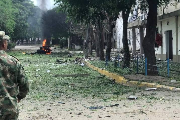 Estalla carro bomba en Brigada 30 de Cúcuta