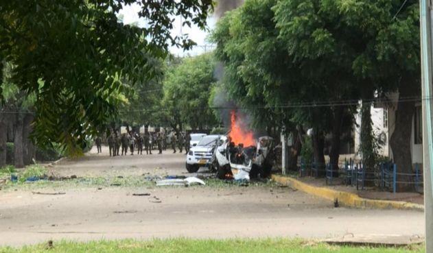 Hasta el momento, 36 heridos por carros bomba en Cúcuta