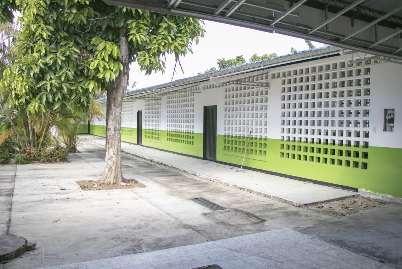 'Luz de esperanza' en obra de Institución Educativa Tierra de Promisión en Neiva
