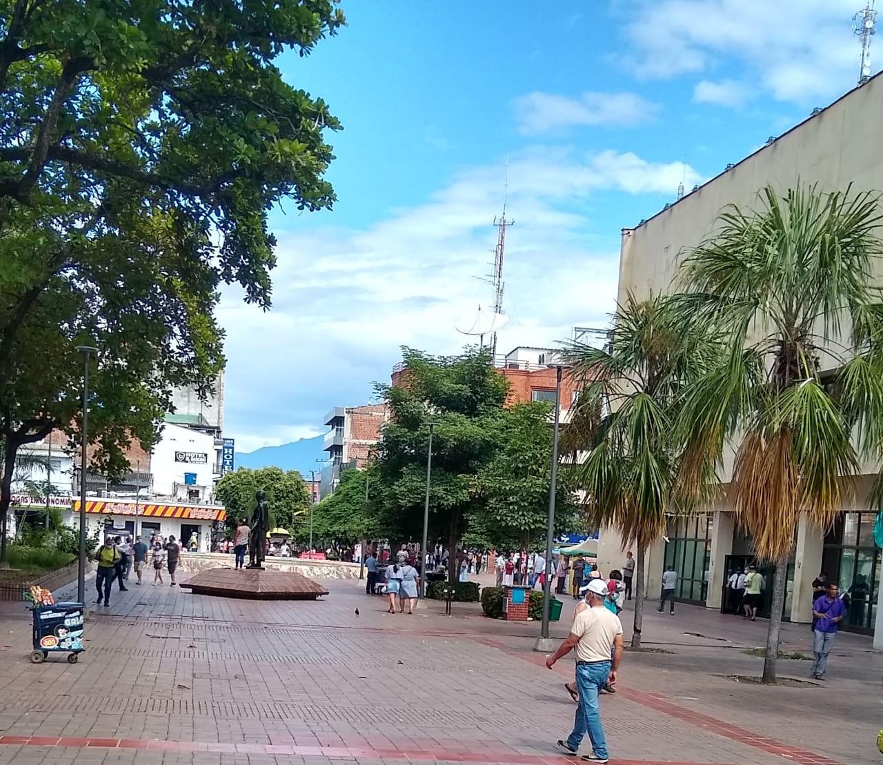 Usuarios habituales del parque Santander en Neiva piden más atención para el lugar