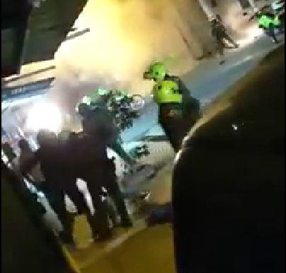 Habrá investigaciones disciplinaria y penal contra uniformados por enfrentamiento en Las Palmas