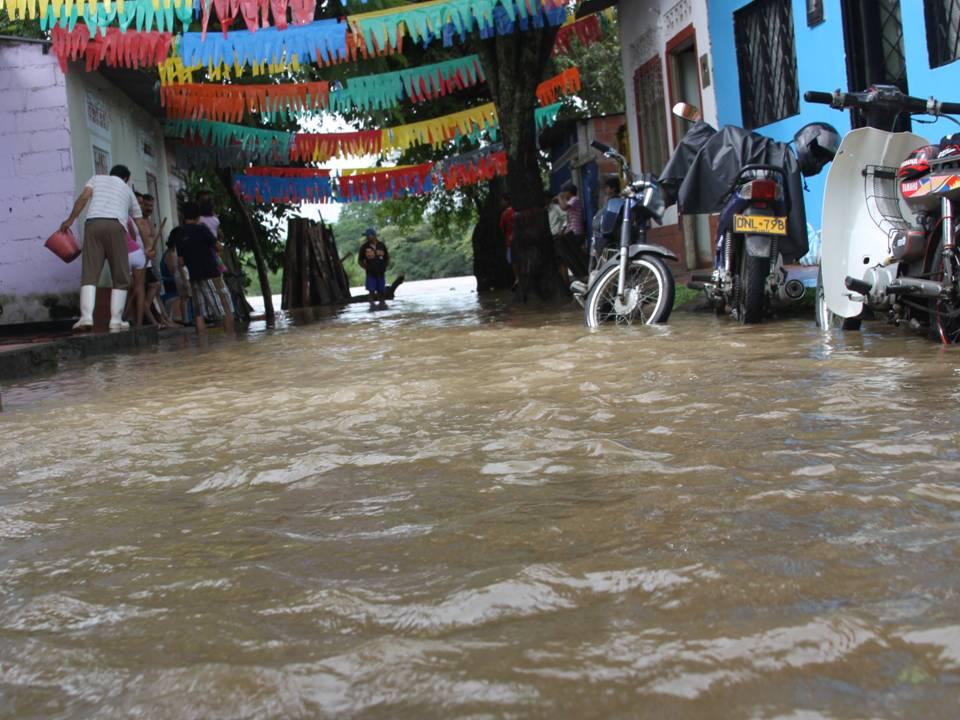 Fuertes lluvias ocasionan afectaciones en municipios del Huila