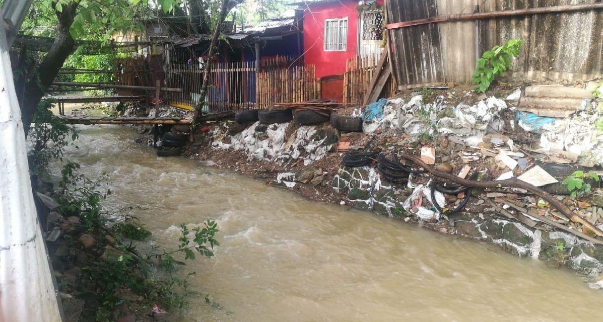 Zona rural de Palermo afectada por ola invernal