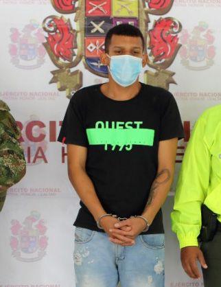Capturado 'Negro Meza', presunto sicario al servicio la organización residual 'Ismael Ruiz'