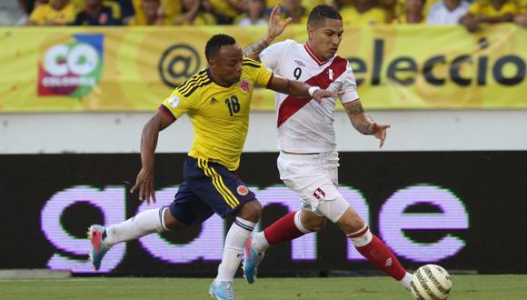 Esta noche Perú-Colombia por eliminatorias Catar 2022