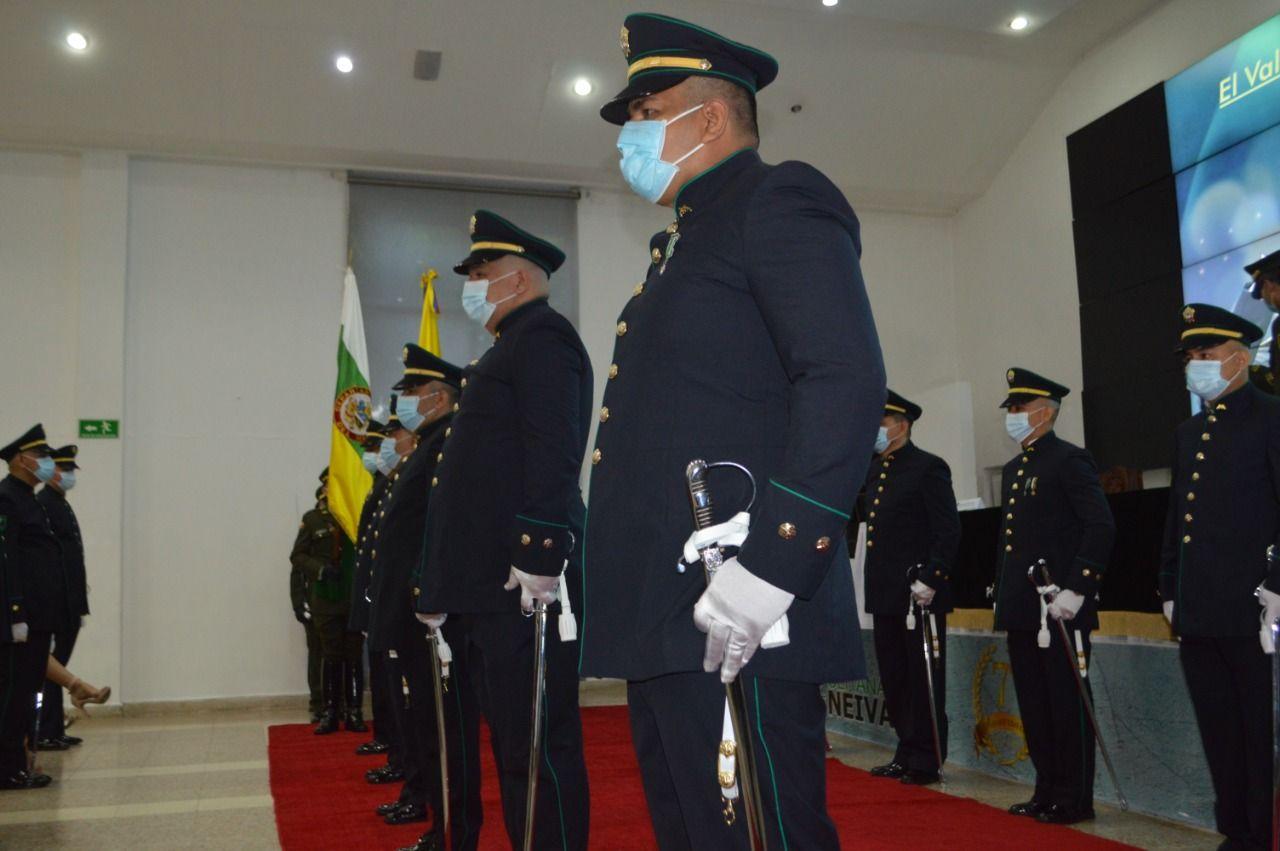 Ascensos en la Policía de Neiva