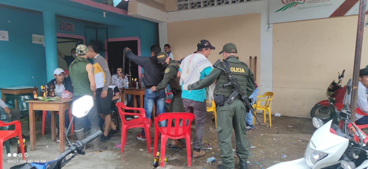 'Movido' puente festivo: Capturadas 29 personas por distintos motivos en el Huila