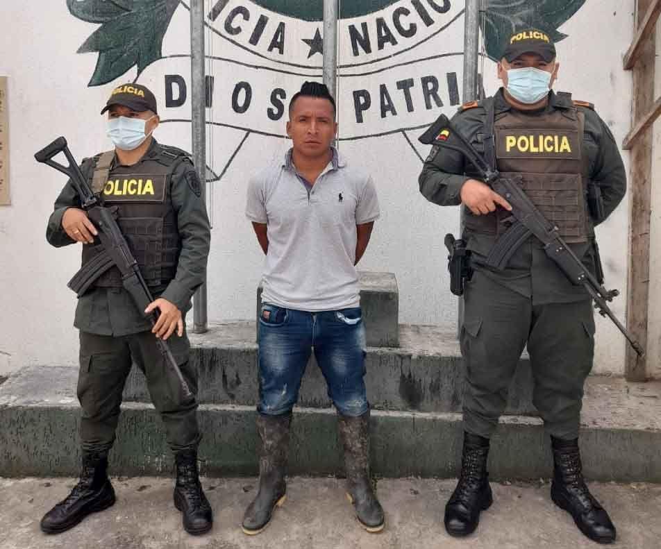 Cae presunto sicario que actuaba en Huila, Cauca y Tolima