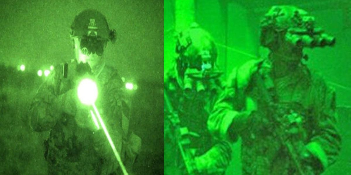 Ejército se 'equivoca' y compra visores nocturnos para deportes extremos y no para uso militar