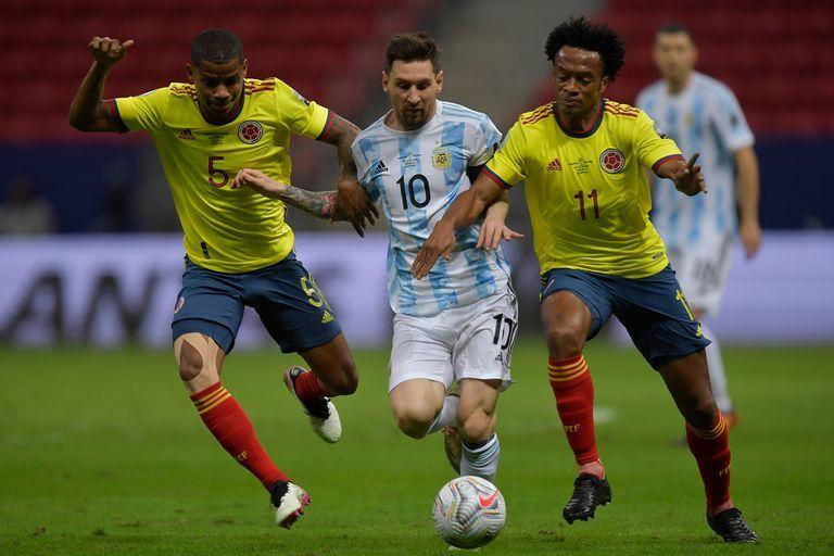 Argentina le ganó por penales a Colombia