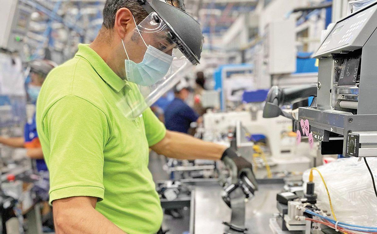 Producción de la industria manufacturera subió 8,6 %
