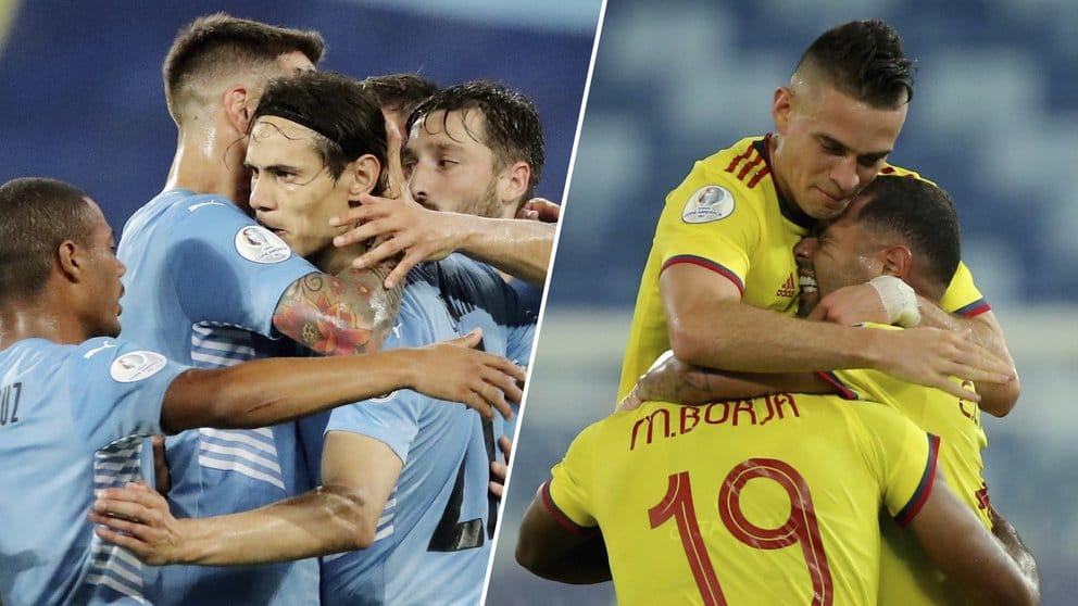 Conozca el historial del duelo Colombia-Uruguay en torneos continentales