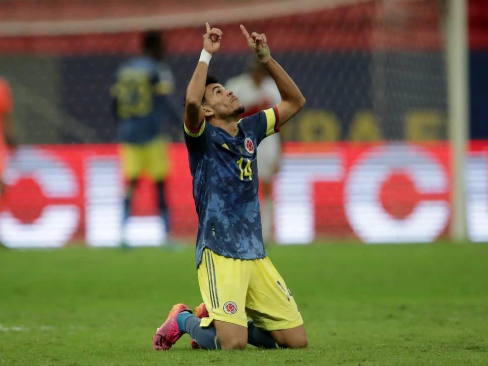 Según BeSoccer, Luis Díaz superó en puntaje a Messi y a Neymar durante la Copa América