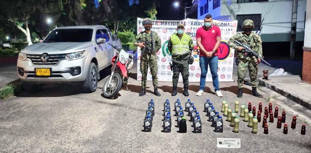 En Suaza cae hombre con 48 kilos de base de coca
