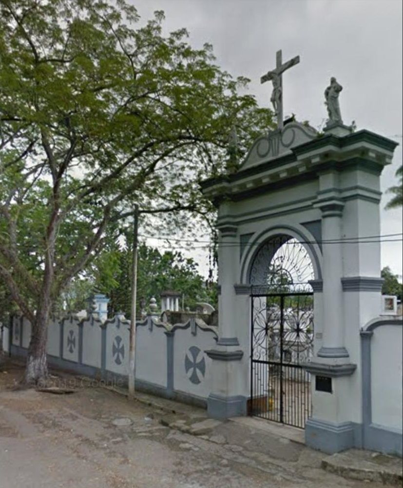 A 'tope' cementerio de Garzón