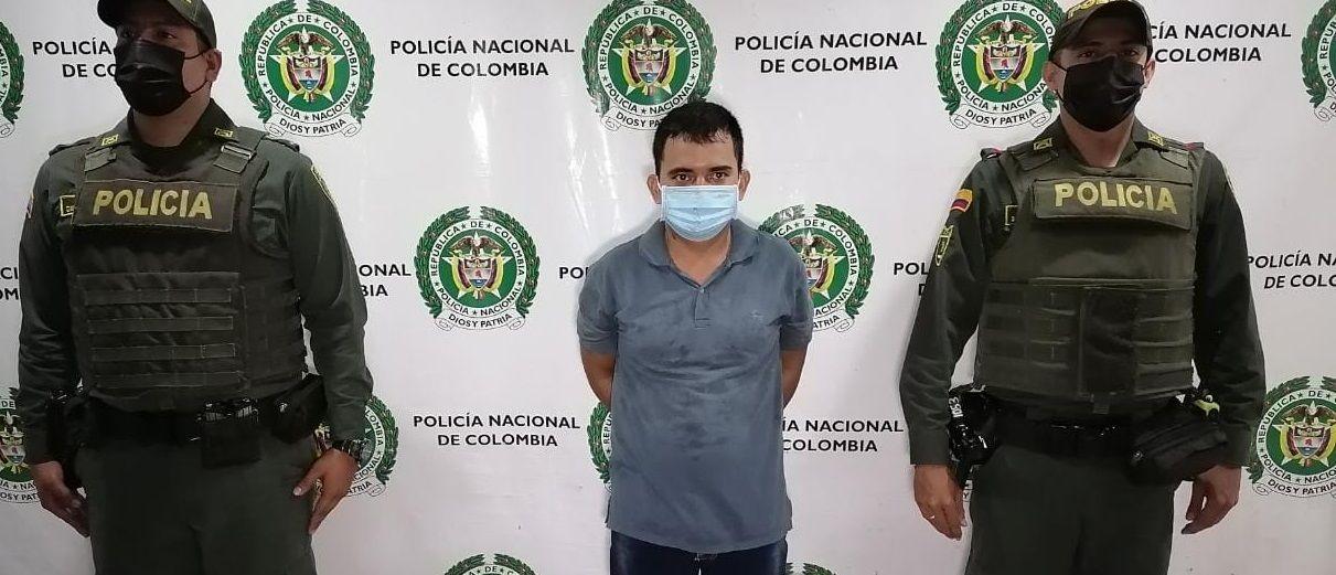 Capturado por el delito de lesiones personales