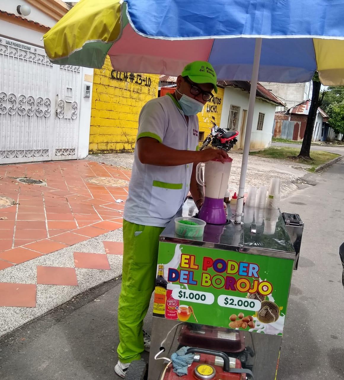 Carlos, el venezolano del borojó