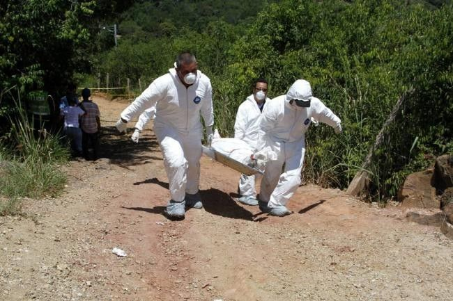 Hombre asesinado en el matadero de Guadalupe