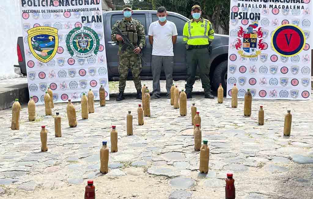 En nuevo caso de incautación de alucinógenos en Suaza, caen más de 47 kilos