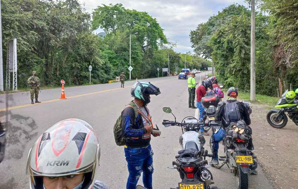 Buen comportamiento en puente sampedrino: Policía Huila