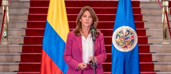 Vicepresidenta en desacuerdo con que CIDH haga seguimiento de DD.HH a Colombia