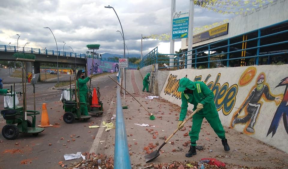 Cinco toneladas de basura, recogió Ciudad Limpia en el norte de Neiva