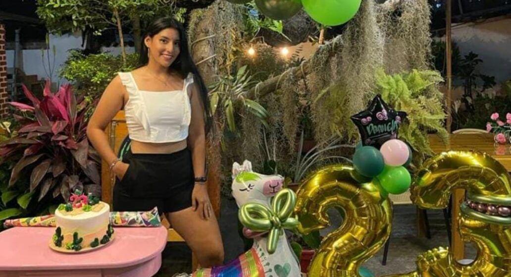 Festejo de Daniela Vargas