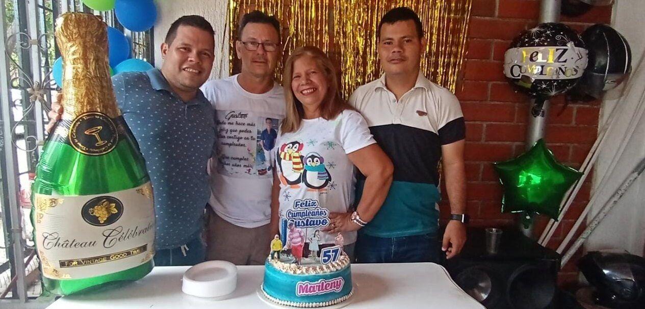 Feliz cumpleaños Gustavo Andrade