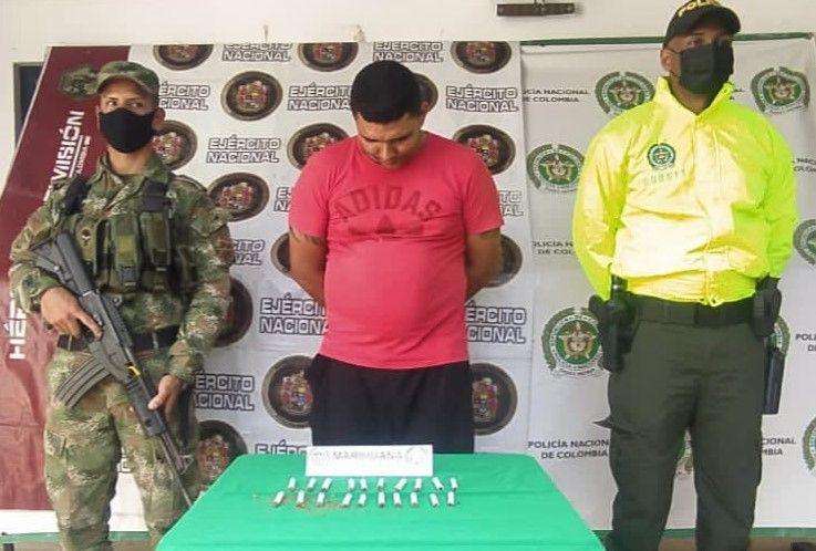'Burro' y 'Pibe' comercializaban alucinógenos en Campoalegre