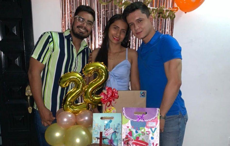Celebración de Yeni Paola Cortes