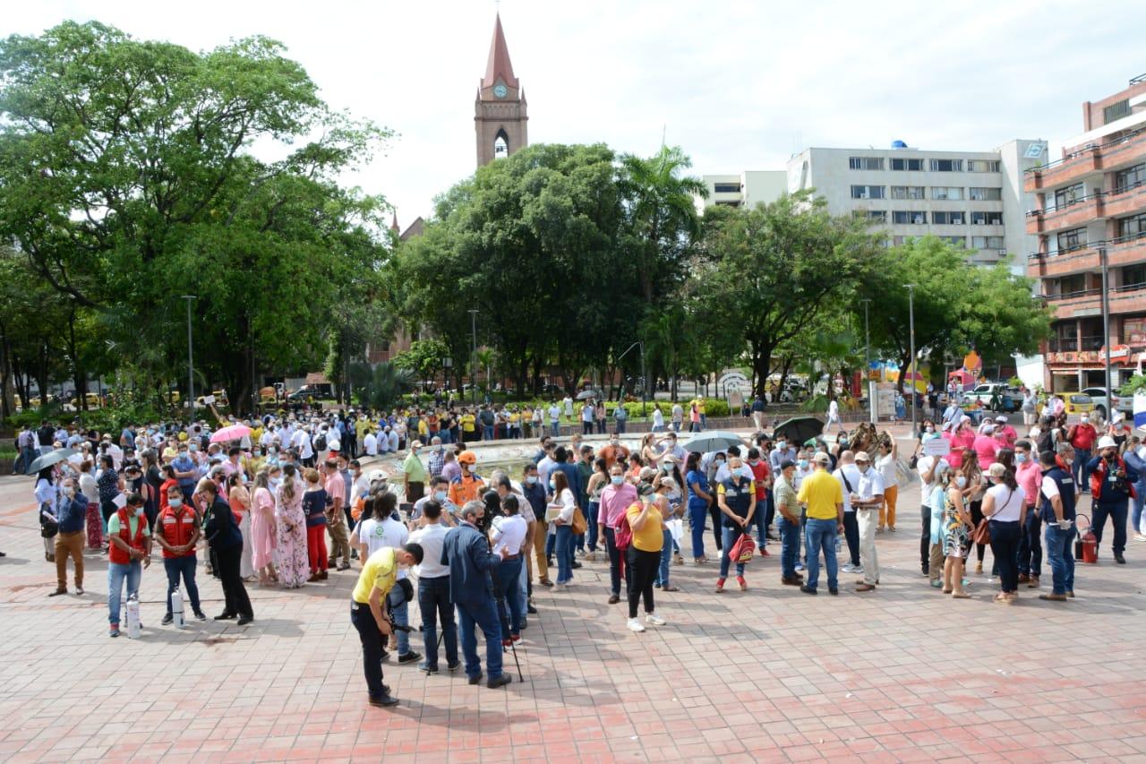 Así fue la participación de los huilenses en el Simulacro Nacional