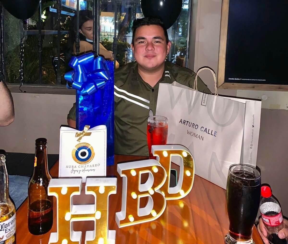 Cumpleaños de Cristian Camilo