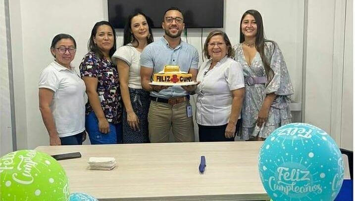 Celebración de Jose Luis Mateus