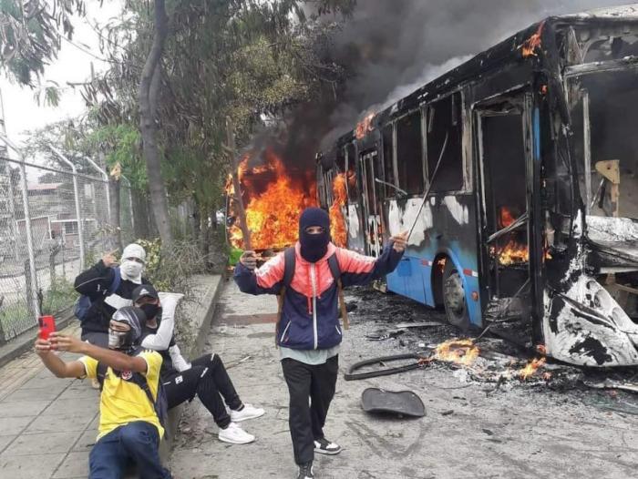 Policía aseguró que el ELN busca «incidir» en actos vandálicos
