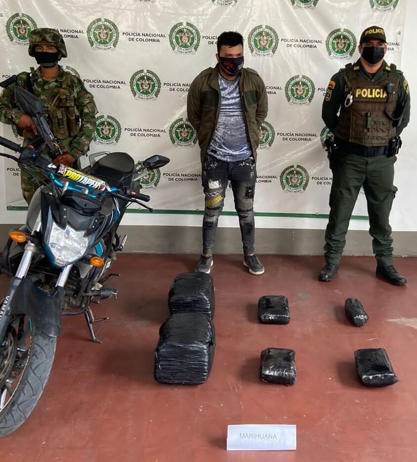 111 kilos de estupefacientes fueron incautados en carreteras del Huila