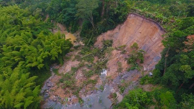 Zona inundada en Pitalito debe ser orientada