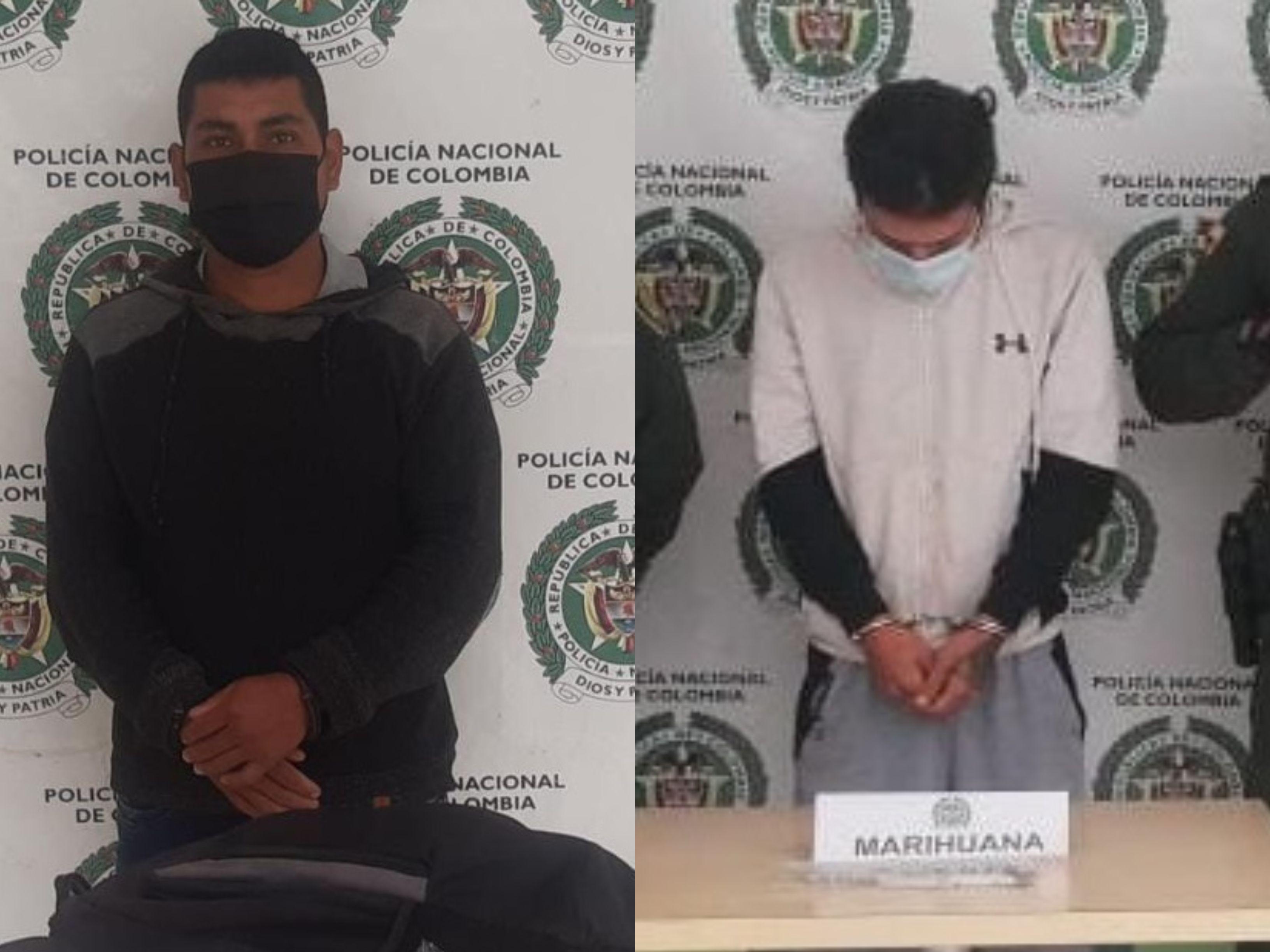 Dos hombres fueron capturados con estupefacientes en Pitalito