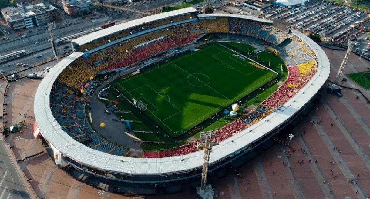 El estadio El Campín de nuevo con público.