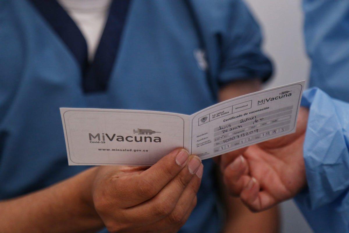 Gobierno estudia la posibilidad de exigir certificado de vacunas para entrar a establecimientos públicos
