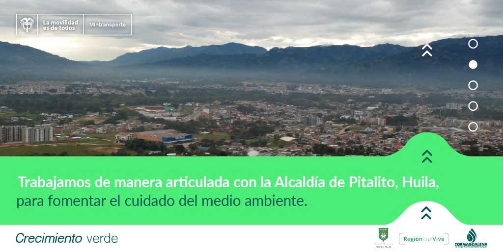 Administración de Pitalito y Cormagdalena firman convenio para implementar proyecto de economía circular