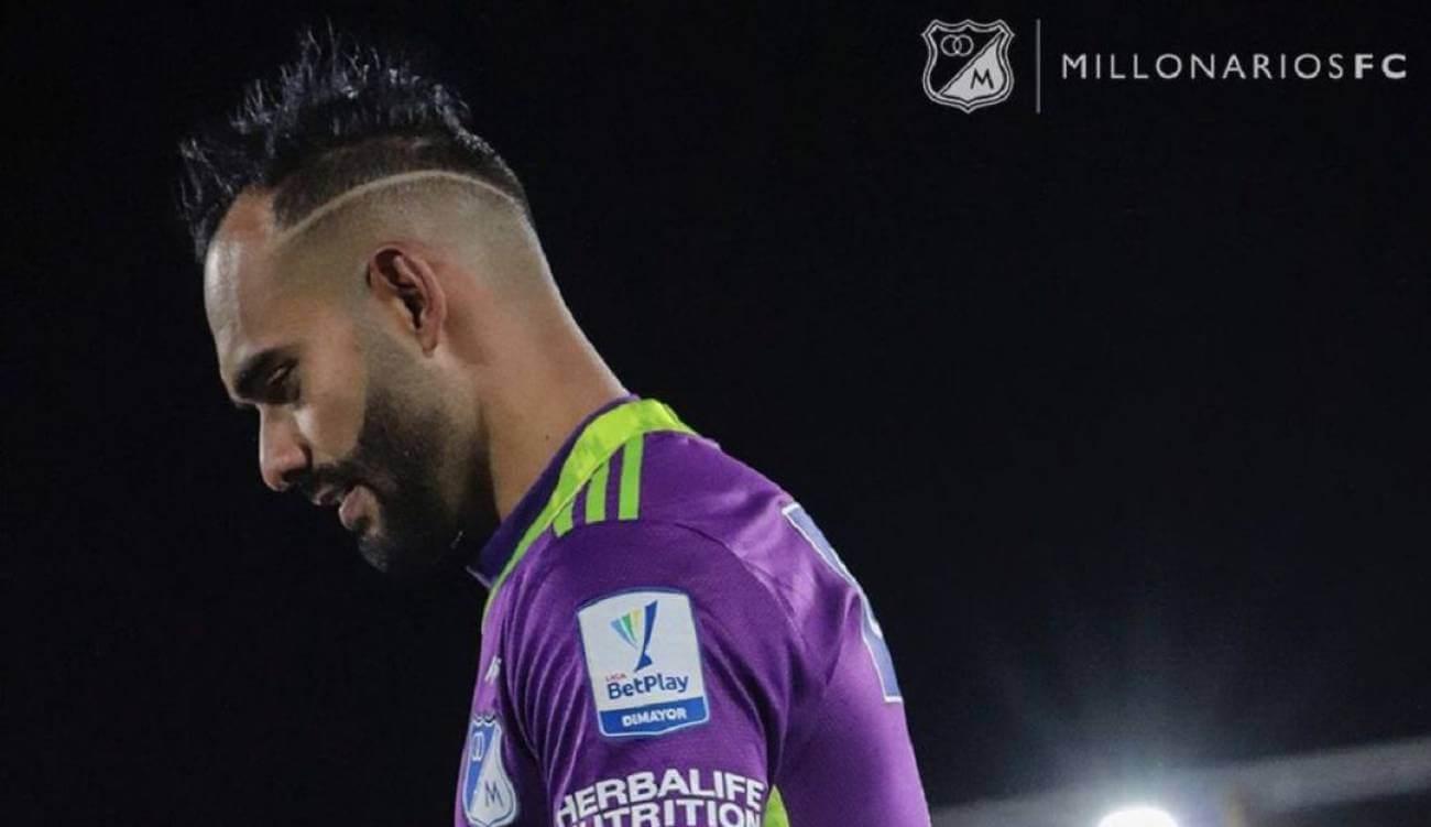 Millonarios perderá a Christian Vargas aproximadamente dos o tres semanas