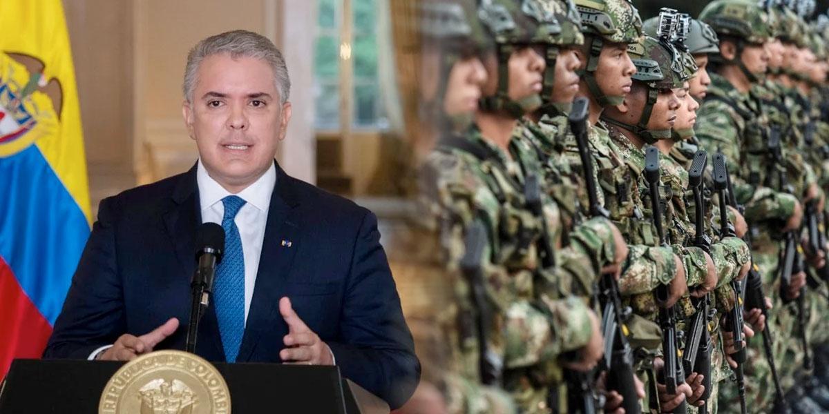 Duque impugnará fallo que suspende uso de la asistencia militar en protestas