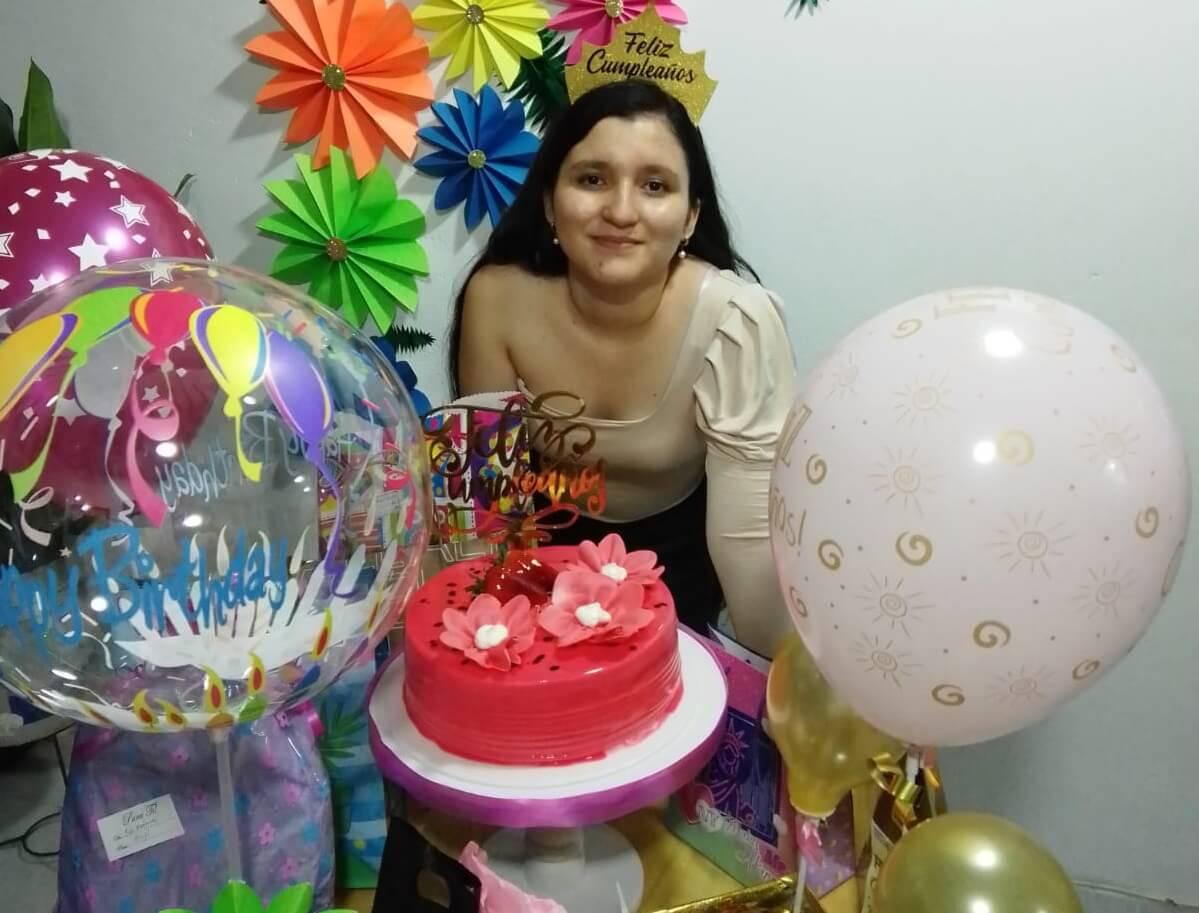 14 años de Angie Sofía