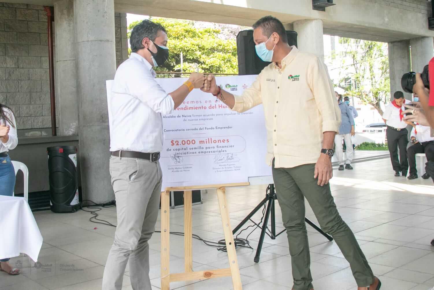 Nuevos emprendimientos en Neiva serán financiados hasta con $80 millones